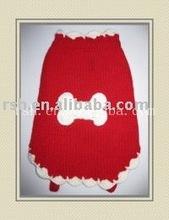 hot sell! unique bones lace pattern pet sweaters wholesaleRSH183