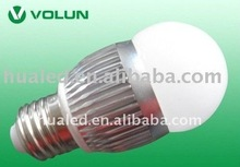 High lightness E27 8W LED bulb 500lm