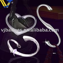 rotatable heart shape purse hook