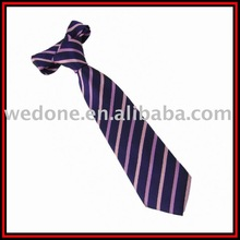2011 fashion polyester woven striped tie jacquard necktie