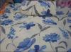 polyester printed coral fleece