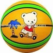 Children Rubber Mini Basketball