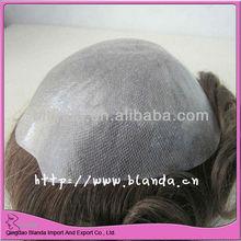 full thin skin injected men's toupee