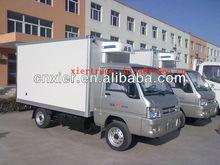 Mini Foton dry cargo transport box truck van