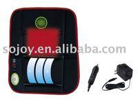half back massager with heat & adjustable air lumbar CUSHION