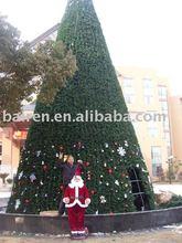 outdoor metal christmas trees