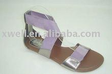 2013 beautiful women flat sandals