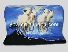 cat pattern fleece blanket