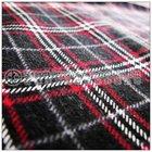 Plaid 100% Cotton Men's Flannel Pajamas/ Shirt fabric