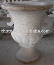 stone flower pots granite garden