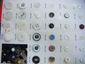 botão de resina plástica
