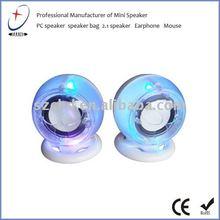 2012 hot sale usb flash speaker for computer