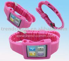 silicon armband case for ipod nano 6th