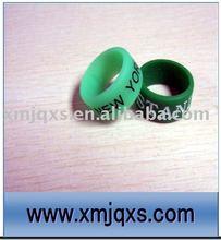 Eco-friendly Custom printing silicone thumb ring/thumb bands silicone