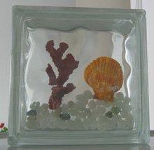 artistic block glass