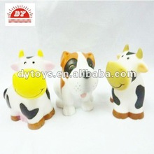 Plastic cute shaking head Milk Cow Toy, promotional toys
