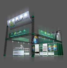 Display booth design in China