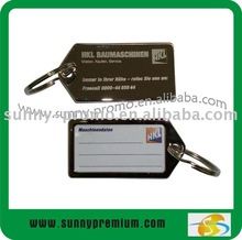 Zinc alloy Luggage Address Tag