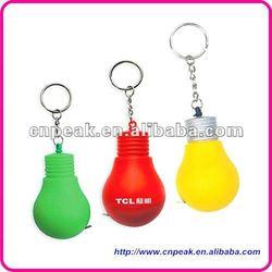 lamp bulb shape mini tape measure
