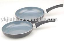 Aluminium ceramic coating frying pan