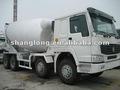 Carro de mezcla concreto de HOWO 8X4