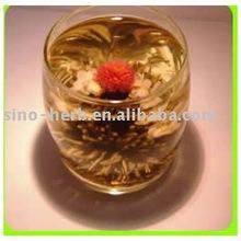 Artistic Tea with jasmine and white silver needle tea, Blooming Tea, Flower Tea