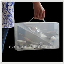 plastic shoe storage box,custom sizes
