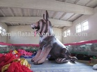 customized giant dog replicate inflatable