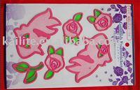 Stickers and Decals( Epoxy+ EVA+PVC+Glitter)