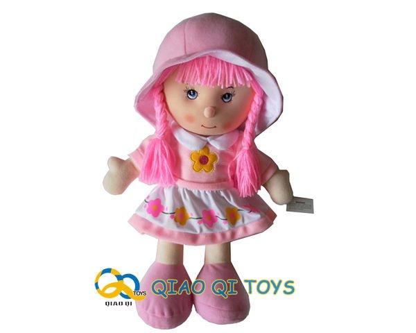 35 cm de algodón 2 colores populares de peluche muñecas suaves ...