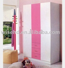 (W-BB-56) wooden children wardrobe