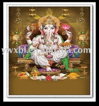 High definition stereo PET 3D indian god pictures