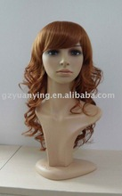 Curly full lace wig blonde