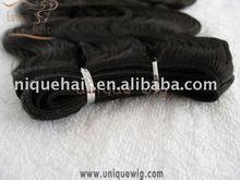 Wholesale jerri curl peruvian hair weaving