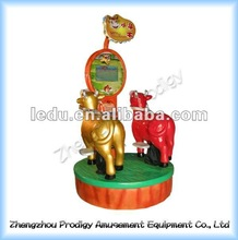 2011 HQ bull fight kiddie and adult ride coin opeated machine