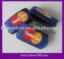 Nylon Velcro Ski Strap for Mastercard