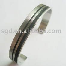 2012 fashion cuff stainless steel bangle bracelet