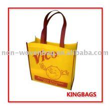 NWB387 stock non woven shopping bag