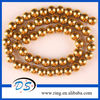 """8MM Golden Magnetic Hematite Round Loose Beads 15.5"""""""