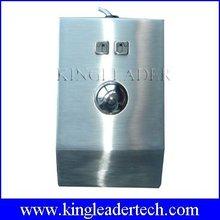 Ip65 desktop metallo ottico del mouse trackball con doa 38mm, eter