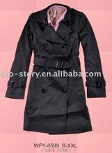 Glo-story wool long new design overcoats for women