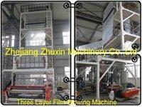 3SJ-50,65 3 layer Coextrusion Machine
