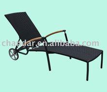 Plastic beach sun lounger,Rattan sun lounger,Sun lounger material