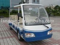11 seats mini electric shuttle bus LQY111B