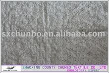cotton silk fabric sleepwear garment net embroidery fabric
