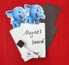 Elephant shape Magnetic writing board & mark pen