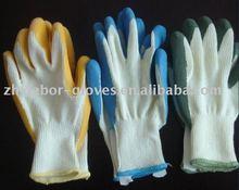 SUPER BLUE NITRILE COATED,Nitrile Safety work gloves.nitrile coated working gloves