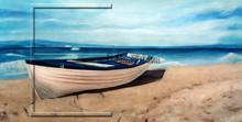 $15.80 size 100x50cm Wholesale Handmade sea landscape oil painting