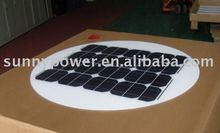 45W Round solar panel