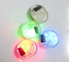 Cartoon PVC decorate led light/LED T-shirt decorate led light